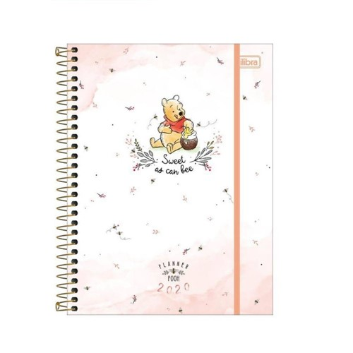 Agenda Espiral Planner Pooh 302341-Tilibra