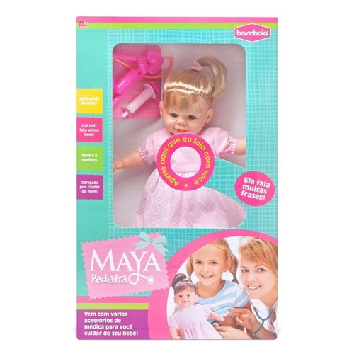 Boneca Maya Pediatra 411 - Bambola