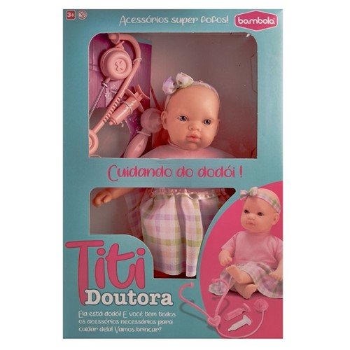 Boneca Titi Doutora 618-Bambola