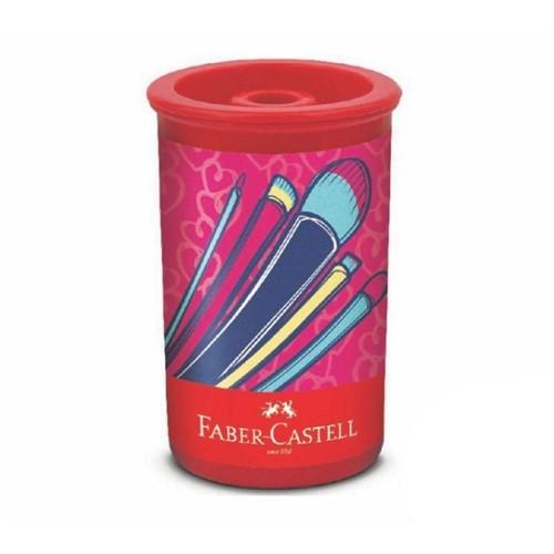 Apontador com Deposito It Girl 2 123ITG2ZF-Faber Castell Apontador com Deposito It Girl 2 123ITG2ZF -Faber Castell