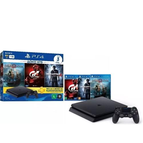 Console Playstation 4 1TB Hits Bundle - Sony