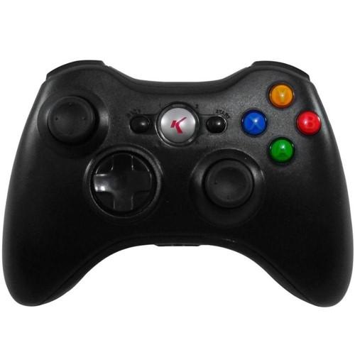 Controle Sem Fio X360 KP-5122-K - Knup