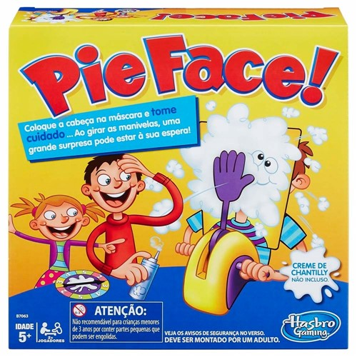 Jogo Pie Face B7063 - Hasbro