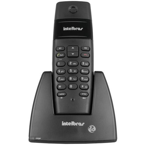 Telefone Sem Fio Dect 6.0 TS40 - Preto - Intelbras