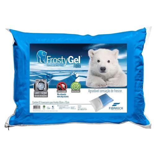Travesseiro Frostygel Fibra - Fibrasca
