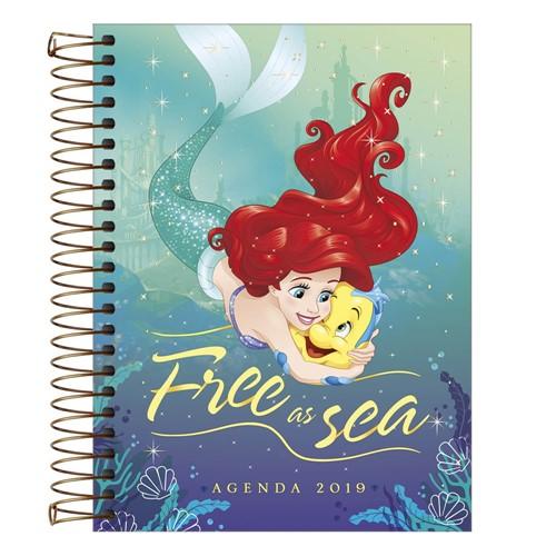 Agenda Princesas 2019 Espiral 152226-Tilibra