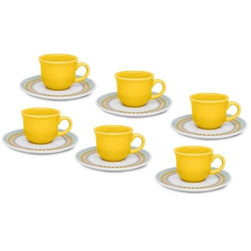 Jogo Chá 12 Peças Bilro J568-6770 - Oxford Daily