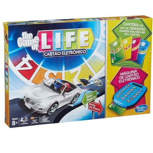 Jogo The Game Of Life Cartão Eletrônico A6769-Hasbro