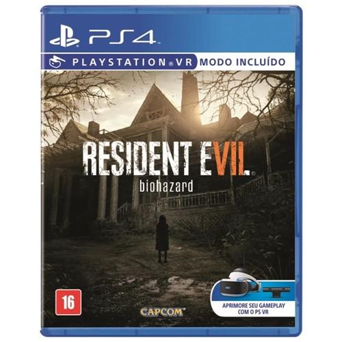 Jogo Resident Evil 7 PS4 BR-Capcom