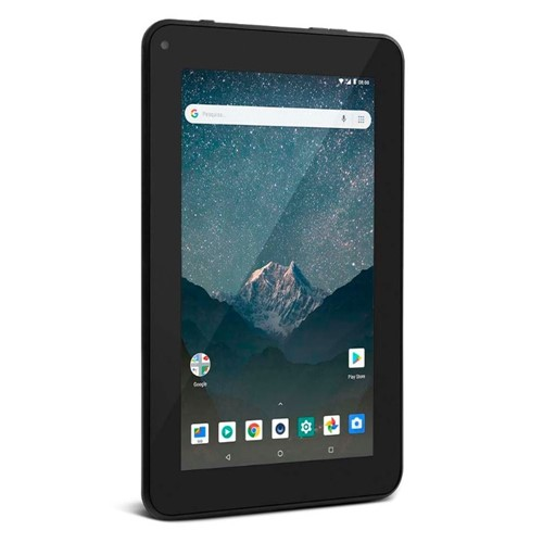 Tablet Multilaser M7s Lite NB296 8GB 7 Wi-Fi - Android 8.1 Quad Core-Preto