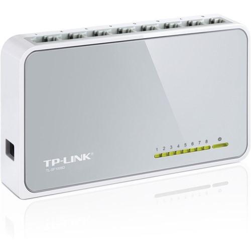 Switch 8 Portas 10/100Mpbs TL-SF1008D-TP-Link