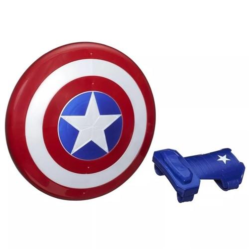 Escudo Capitão América Bracelete e Imã B9944-Hasbro