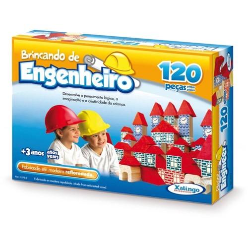 Brincando Engenheiro 5279.8 120PC - Xalingo