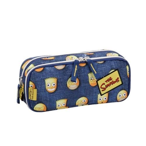 Estojo Duplo Simpsons Emoticons 7402214-Pacific