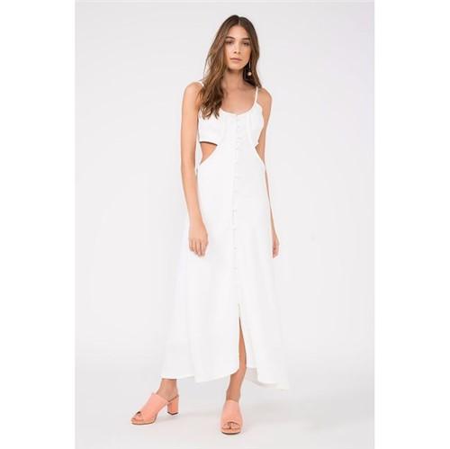 A.Brand | A.Brand | Vestido Bojo Vazado Branco Coconut - 34