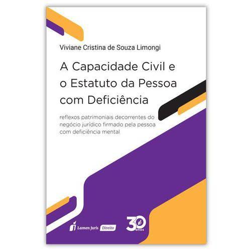 A Capacidade Civil e o Estatuto da Pessoas com Deficiência - 2018