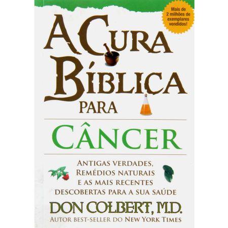 A Cura Bíblica para Câncer