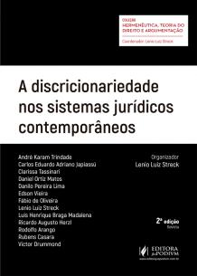 A Discricionariedade Nos Sistemas Jurídicos Contemporâneos (2019)