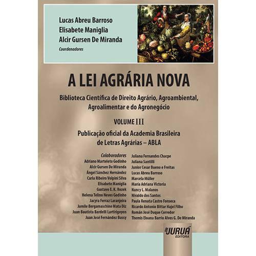 A Lei Agrária Nova - Volume Iii