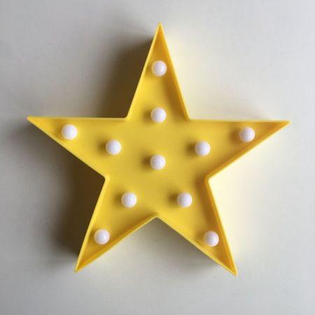 Abajour de Festa Estrela