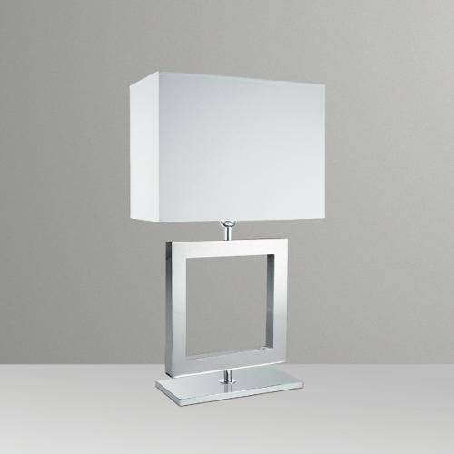 Abajur Alumínio Cúpula Tecido Luminária Mesa Aparador Sala Quarto Cabeceira Led Gda M632-Me