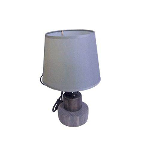 Abajur / Luminaria com Base de Porcelana Colors Bivolt 29x18cm