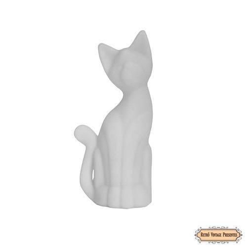 Abajur / Luminária Gato Siamês