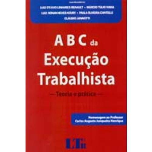 Abc da Execucao Trabalhista - 01ed/14