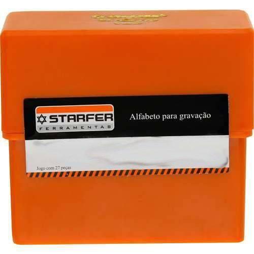 Abcdário Alfabeto 6mm Starfer 07150032