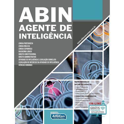 Abin - Agente de Inteligência – Agência Brasileira de Inteligência
