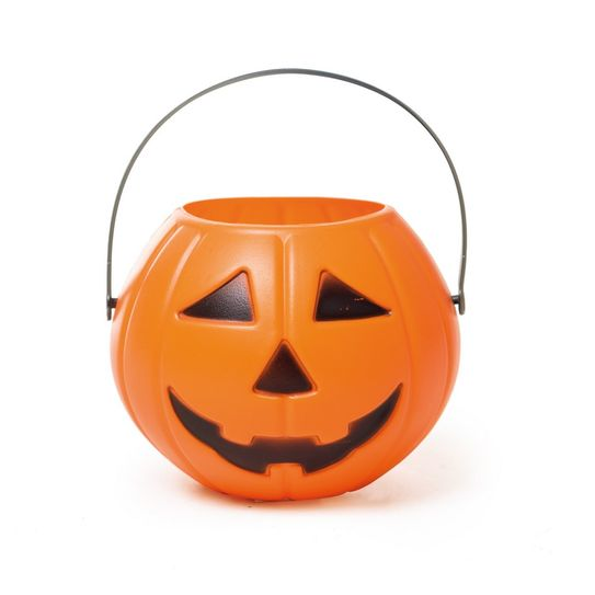 Abobora Grande com Alça Halloween - Cromus