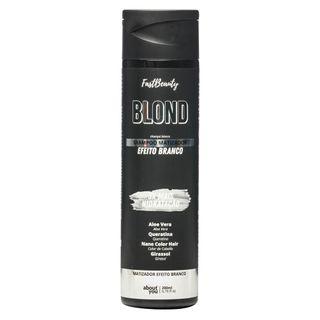About You Fast Beauty Blond - Shampoo Matizador Efeito Branco 300ml