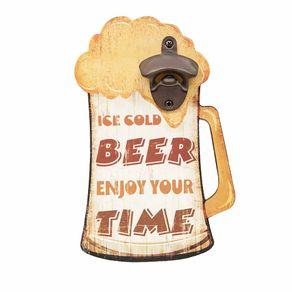 Abridor de Garrafa Formato Caneca de Cerveja