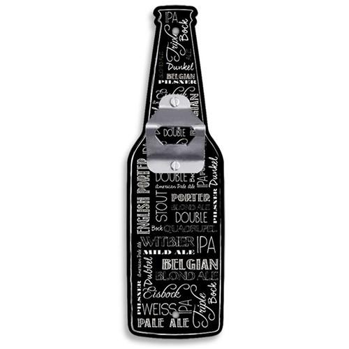 Abridor de Garrafas de Parede Tipos de Cerveja