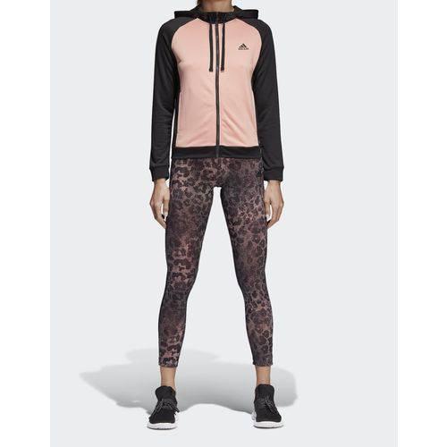Abrigo Feminino Adidas 3SS CD6378 Preto/Pink