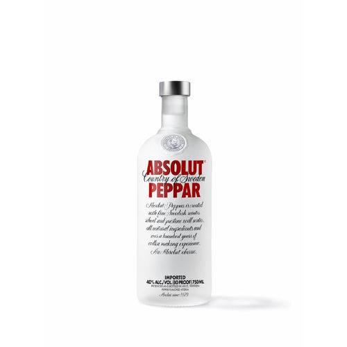 Absolut Vodka Peppar Sueca - 750ml