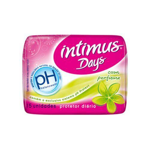 Absorvente Intimus Days Normal com Abas com 15 Unidades