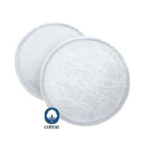 Absorventes Laváveis para Seios Philips Avent SCF155/06 - Branco