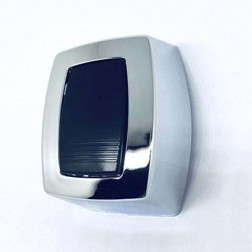 Acabamento ALTO para Valvula de Descarga Cipla Antiga em ABS Cromado 6cm