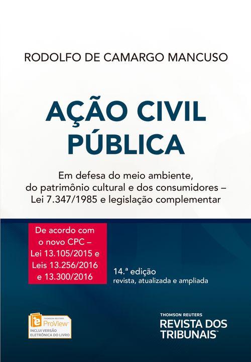 Ação Civil Pública - 14ª Edição