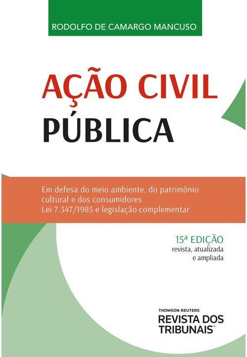 Ação Civil Pública - 15º Edição