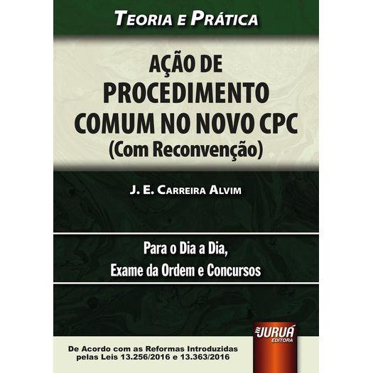 Acao de Procedimento Comum no Novo Cpc - Jurua