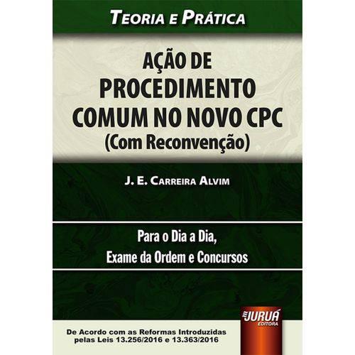 Ação de Procedimento Comum no Novo Cpc