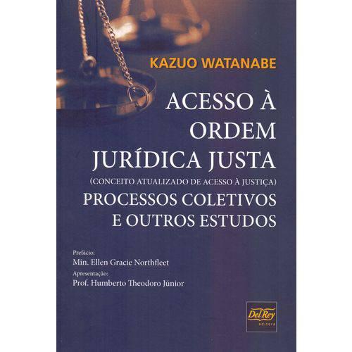 Acesso a Ordem Juridica Justa - 01ed/19