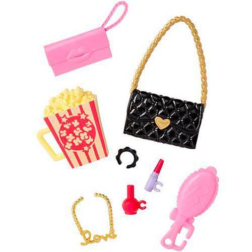 Acessórios Barbie FAB Bolsa/Pipoca CMR78 - Mattel