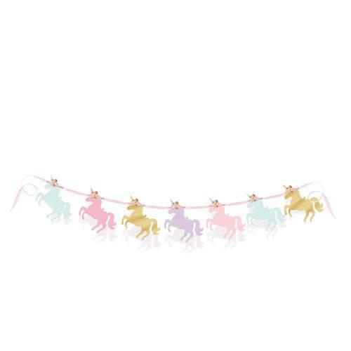 Acessórios para Festa - Faixa Decorativa - Figuras Unicórnios - Cromus