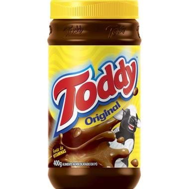 Achocolatado em Pó Toddy 400g Cj. C/ 3 Un.