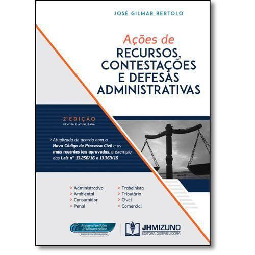 Ações de Recursos, Contestações e Defesas Administrativas