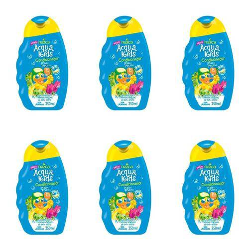Acqua Kids Praia e Piscina Condicionador Infantil 250ml (kit C/06)