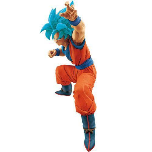 Action Figure Bandai Banpresto Big Size Dragon Ball Super Goku Blue